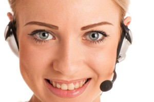 customer service or help desk