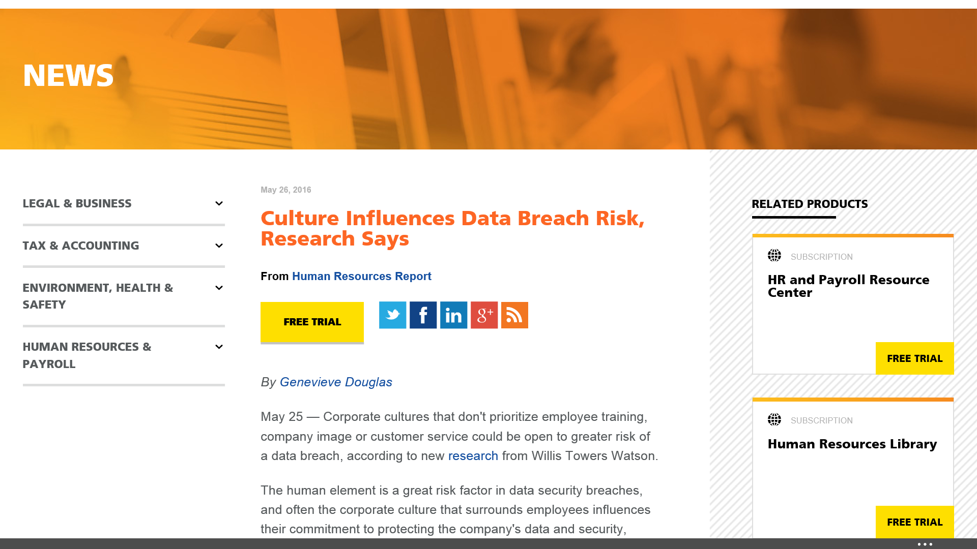 Company Culture Influences Data Breaches: Report
