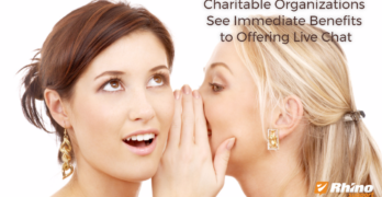 Charitable Organizations See Immediate Benefits of Live Chat