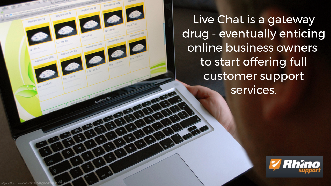 Live Chat is Gateway Drug for Offering Better Customer Support