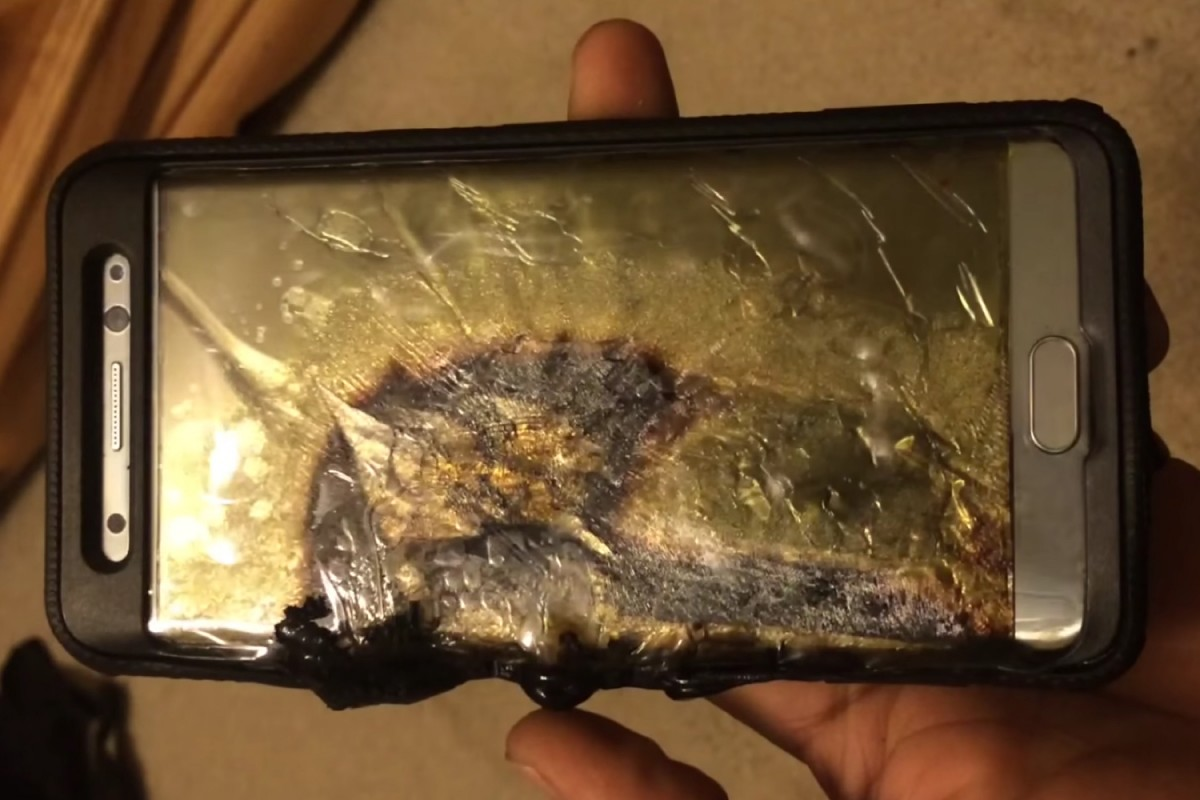 Dozens of Smart Phone Explosions Cause Samsung Recall